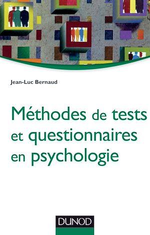Téléchargez le livre :  Méthodes de tests et questionnaires en psychologie