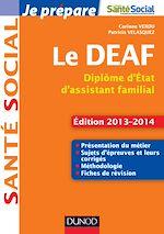 Télécharger le livre :  Je prépare le DEAF - 2éd.