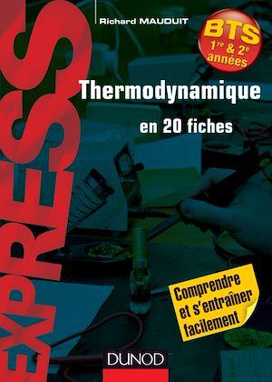 Téléchargez le livre :  Thermodynamique en 20 fiches