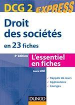 Télécharger le livre :  Droit des sociétés - DCG 2 - 4e éd.