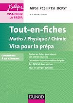 Télécharger le livre :  Tout-en-fiches Maths-Physique-Chimie Visa pour la prépa