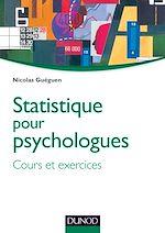 Télécharger le livre :  Statistique pour psychologues