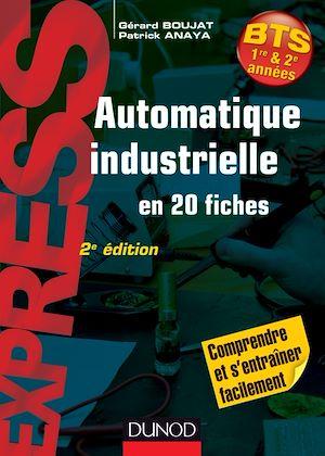 Téléchargez le livre :  Automatique industrielle en 20 fiches- 2e édition