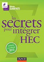 Télécharger le livre :  Les secrets pour intégrer HEC