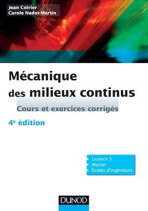 Téléchargez le livre :  Mécanique des milieux continus - 4e édition