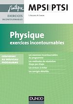 Télécharger le livre :  Physique Exercices incontournables MPSI-PTSI