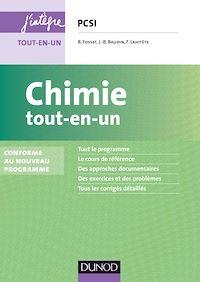 Chimie tout-en-un PCSI - 3e éd.