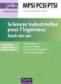 Sciences industrielles pour l'ingénieur MPSI-PCSI-PTSI - 2e éd.