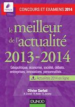 Télécharger le livre :  Le meilleur de l'actualité 2013-2014 - Concours et examens 2014