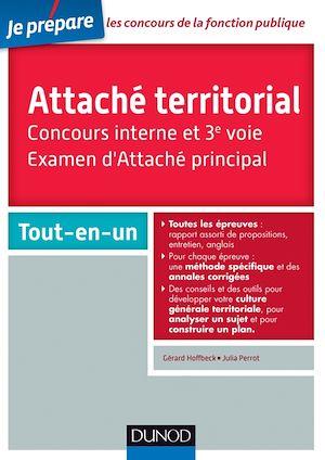 Téléchargez le livre :  Attaché territorial. Concours interne et 3e voie