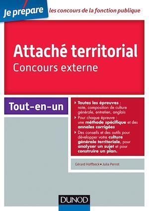 Téléchargez le livre :  Attaché territorial - Concours externe