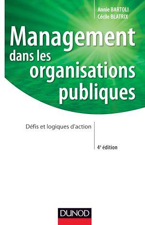 Téléchargez le livre :  Management dans les organisations publiques - 4e édition