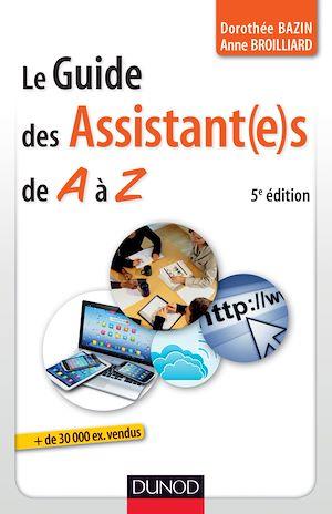 Téléchargez le livre :  Le guide des assistantes de A à Z - 5e édition