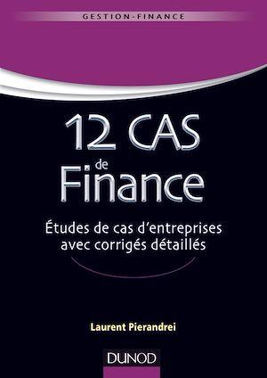 Téléchargez le livre :  12 cas de finance