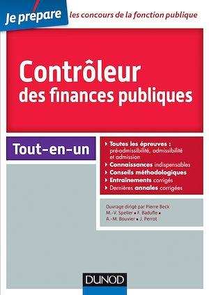 Téléchargez le livre :  Controleur des finances publiques - Concours externe et interne
