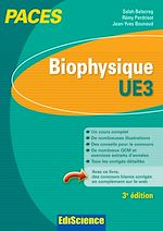Télécharger le livre :  Biophysique - UE3 PACES - 3e éd.