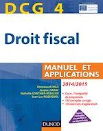 Télécharger le livre :  DCG 4 - Droit fiscal 2014/2015 - 8e éd.