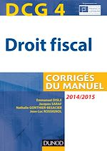 Télécharger le livre :  DCG 4 - Droit fiscal 2014/2015 - 8e édition