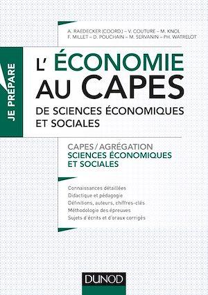 Téléchargez le livre :  L'économie au CAPES de SES
