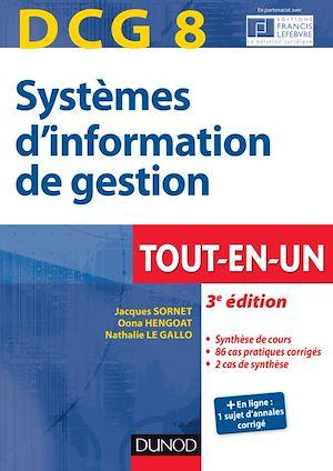 Téléchargez le livre :  DCG 8 - Systèmes d'information de gestion - 3e éd.