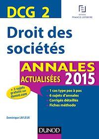 DCG 2 - Droit des sociétés 2015