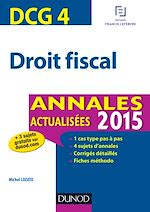 Télécharger le livre :  DCG 4 - Droit fiscal 2015
