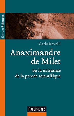 Téléchargez le livre :  Anaximandre de Milet ou la naissance de la pensée scientifique