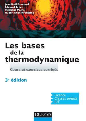Téléchargez le livre :  Les bases de la thermodynamique - 3e éd.