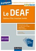 Télécharger le livre :  Je prépare le DEAF - 3éd.