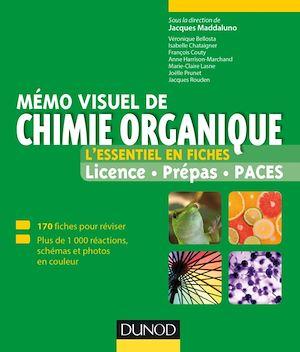 Téléchargez le livre :  Mémo visuel de chimie organique