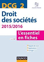 Télécharger le livre :  DCG 2 - Droit des sociétés 2015/2016 - 6e éd.