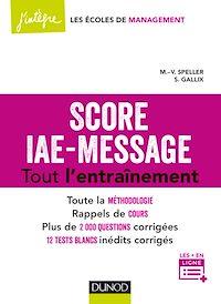 Score IAE-Message - Tout l'entraînement