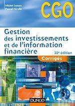 Télécharger le livre :  Gestion des investissements et de l'information financière - 10e éd