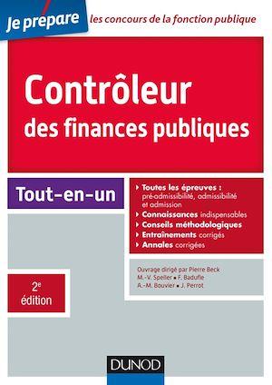 Téléchargez le livre :  Contrôleur des finances publiques - Concours externe et interne - 2e éd.