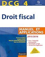 Télécharger le livre :  DCG 4 - Droit fiscal 2015/2016 - 9e éd.