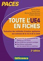 Télécharger le livre :  Toute l'UE4 en fiches - PACES