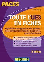 Télécharger le livre :  Toute l'UE3 en fiches PACES - 2e éd.