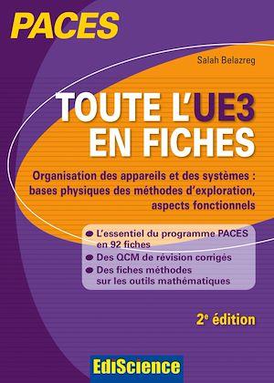 Téléchargez le livre :  Toute l'UE3 en fiches PACES - 2e éd.