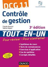 DCG 11 - Contrôle de gestion - 3e éd.