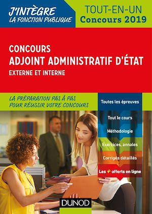 Téléchargez le livre :  Concours Adjoint administratif d'Etat - Externe et interne