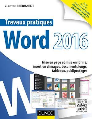Téléchargez le livre :  Travaux pratiques avec Word 2016
