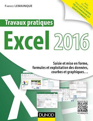 Téléchargez le livre :  Travaux pratiques avec Excel 2016
