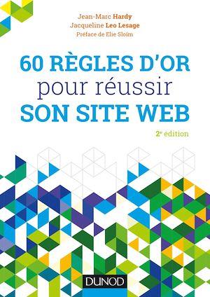Téléchargez le livre :  60 règles d'or pour réussir son site web