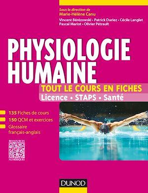 Téléchargez le livre :  Physiologie humaine - Tout le cours en fiches
