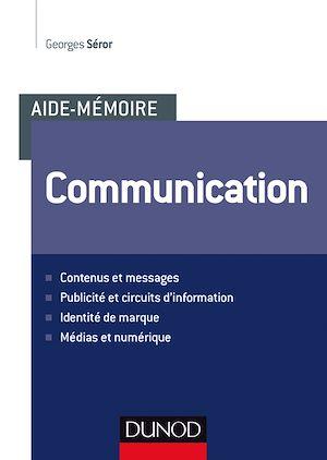 Téléchargez le livre :  Aide-mémoire - Communication