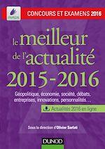 Télécharger le livre :  Le meilleur de l'actualité 2015-2016