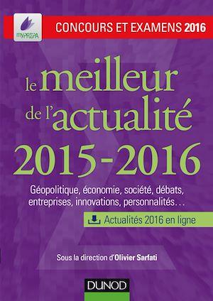 Téléchargez le livre :  Le meilleur de l'actualité 2015-2016