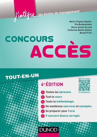 Concours Accès 4e Edition ( avec complément web).