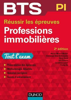 Téléchargez le livre :  BTS Professions immobilières - 2e éd.