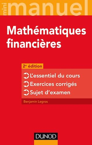 Téléchargez le livre :  Mini-manuel - Mathématiques financières - 2e éd